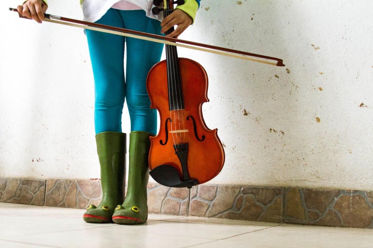 La niñez y la música